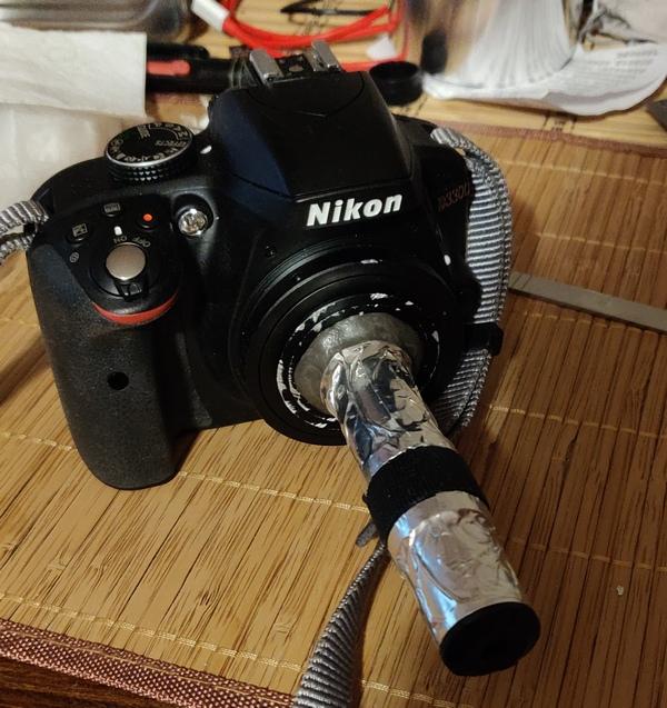 Спектроскоп собран и готов к работе!