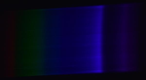 Спектр китайского ультрафиолетового диода.