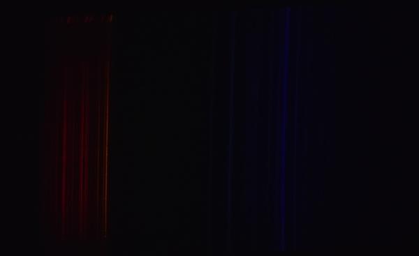 Спектр китайского декоративного плазменного шара с Алиэкспресс.